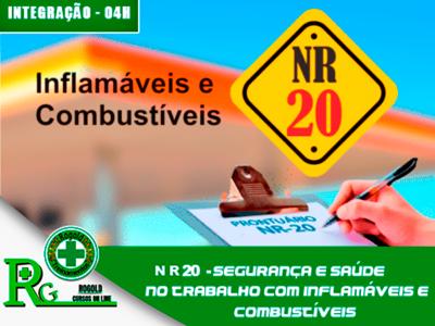 NR 20 – Segurança e Saúde no Trabalho com Inflamáveis e Combustíveis – Integração