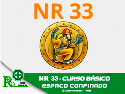 NR 33 – Espaços Confinados para Supervisores (semipresencial)