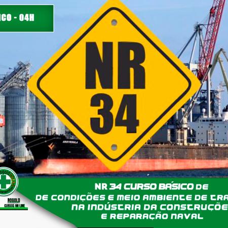 NR 34  Condições e Meio Ambiente de Trabalho na Indústria da Construção e Reparação Naval – Periódico