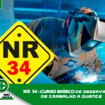 NR 34 Observador de Trabalho a Quente